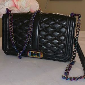 Rebecca minkoff Iridescent oil slick love bag